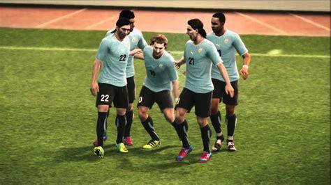 Pro Evolution Soccer 2012 PS3 Uruguay vs España   YouTube