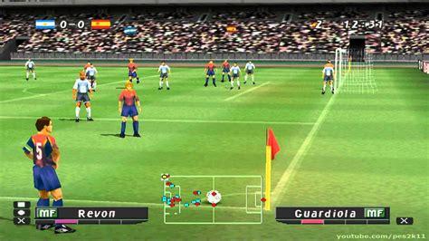 Pro Evolution Soccer   Argentina vs España   YouTube