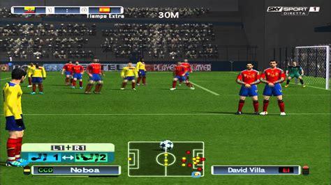 Pro Evolution Soccer:  El Partido del Siglo  Ecuador vs ...