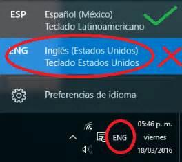 Problema con el idioma del teclado de Windows 10  solución ...