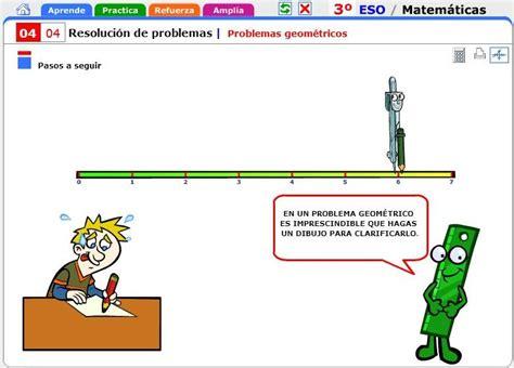 Problemas geométricos. Matemáticas para 3º de Secundaria ...