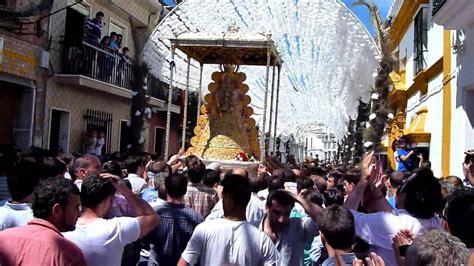 procesion virgen del Rocio Almonte 2013   YouTube
