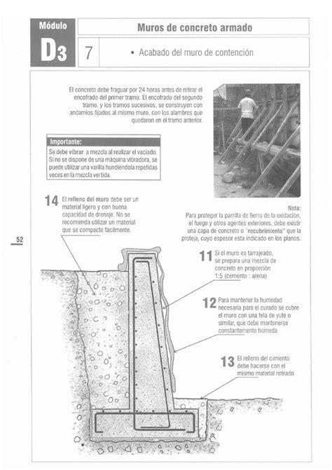 PROCESO CONSTRUCTIVO DE MURO DE CONTENCION | Francisco ...