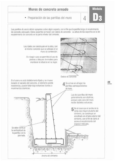 PROCESO CONSTRUCTIVO DE MURO DE CONTENCION | Muro de ...