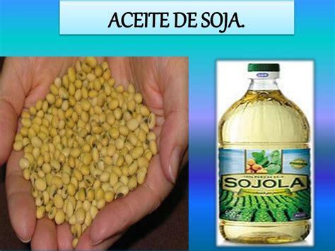 Proceso de producción del aceite de soja