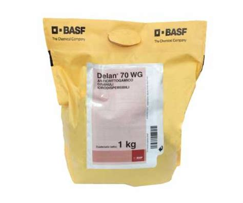 Prodotto Delan 70 Wg, agrofarmaci   fungicidi.
