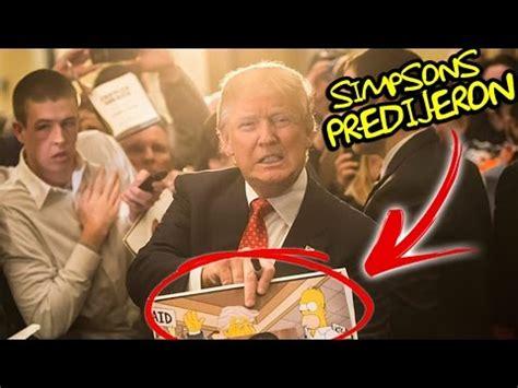 Profecia de la serie animada cumplida Donald Trump ya es ...