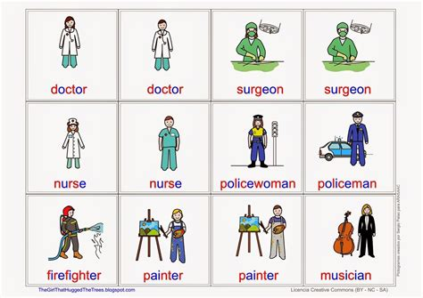 Professions flashcards. Free Language/Speech Therapy ...