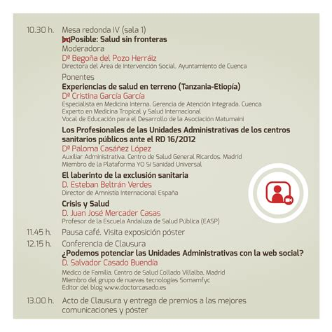 Programa 4º Congreso Nacional de la Asociación de ...