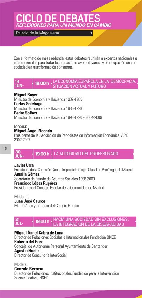 Programa actividades culturales uimp 2010