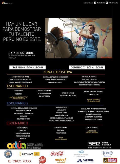 Programación Actúa 2018 en Sevilla | Radio Sevilla ...