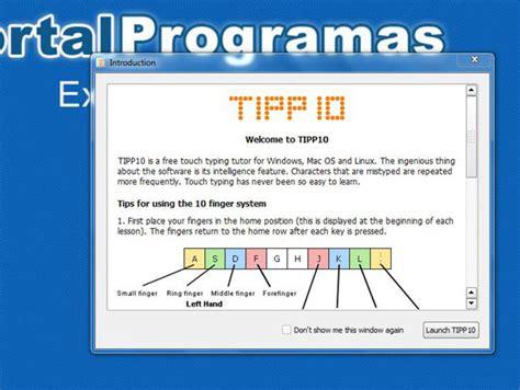 Programas de mecanografía gratis