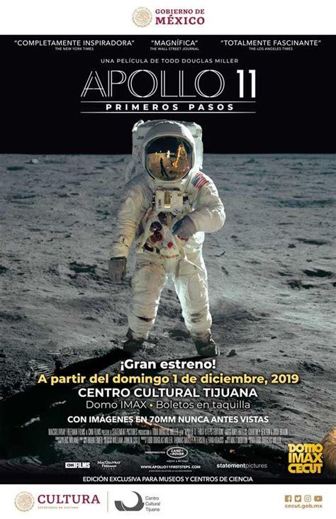 Promete 'Apollo 11' llevar al público al espacio exterior ...