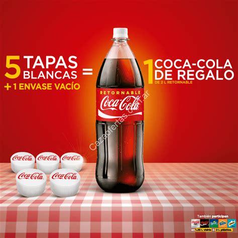 Promo Coca Cola Retornables: Juntá 5 tapas blancas + 1 ...