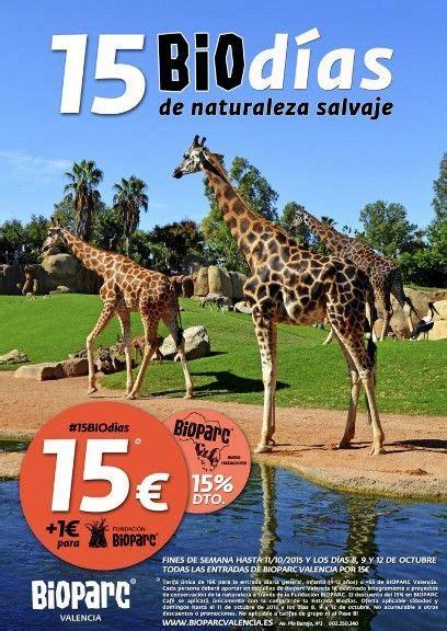 Promoción 15 Biodías de Bioparc Valencia