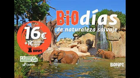 Promoción BIOdías  2016  de BIOPARC Valencia   YouTube