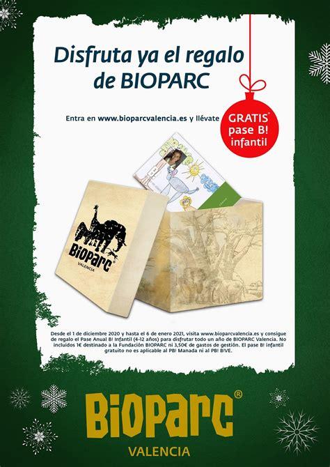 Promoción BIOPARC Valencia para esta Navidad