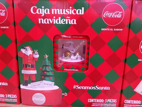 Promoción Coca Cola Caja Musical Navideña 2019