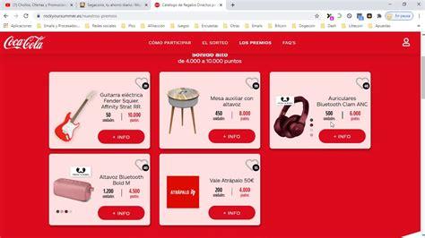 ¡Promoción Coca cola Verano 2020! Web de pincodes ...
