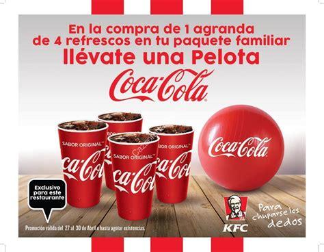 Promoción Día del Niño KFC y Coca Cola: pelota Gratis al ...