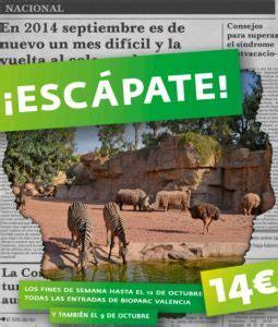 Promoción Escápate 2014 Bioparc Valencia | VIAJES CON PEQUES