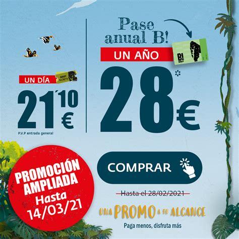 PROMOCIÓN PASE ANUAL B! FEBRERO   BIOPARC Fuengirola