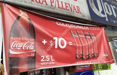 Promoción vasos Coca Cola: Compra refresco de 2.5 litros ...
