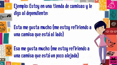 Pronombres Demostrativos/Pronombre/Lengua 2 ESO/AulaFacil ...