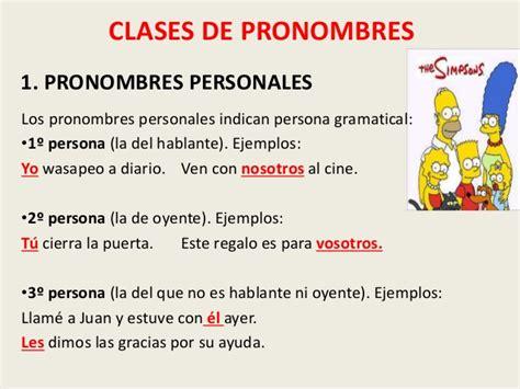 Pronombres y determinantes