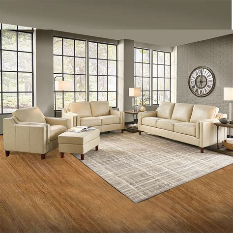 Prospera Home, Dobson, set de sofás, 4 piezas, piel ...