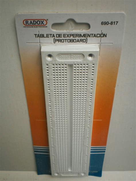 Protoboard 720 Puntos + Curso Digital De Electronica ...