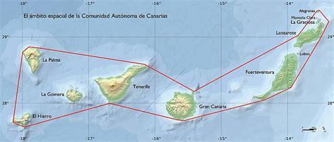 Provincias Islas Canarias Mapa Politico