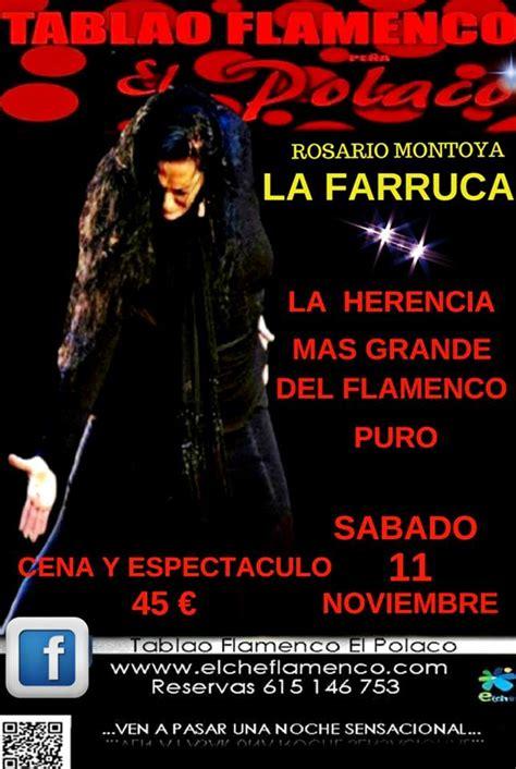 """Próximos Eventos – Flamenco: Rosario Montoya, """"La Farruca ..."""