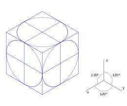 Proyección isométrica   Wikipedia, la enciclopedia libre
