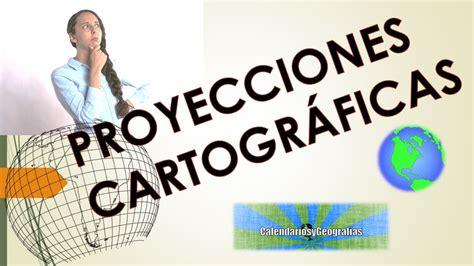 PROYECCIONES CARTOGRÁFICAS ASPECTOS BÁSICOS   YouTube