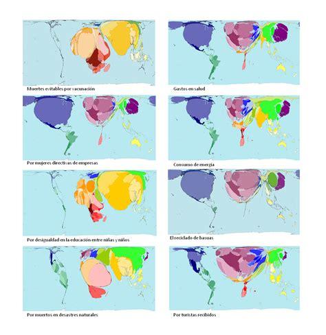 Proyecciones cartográficas: Viendo el mundo desde otros ...