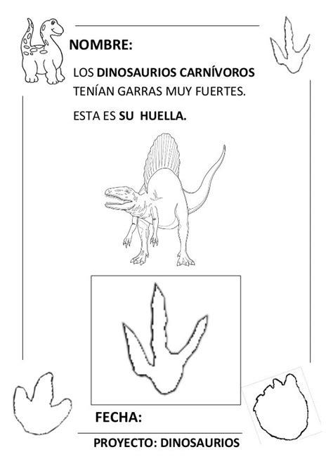 Proyecto completo dinosaurios. programación, fichas ...