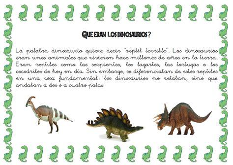 PROYECTO DE LOS DINOSAURIOS | dinosaurios | Dinosaurios ...