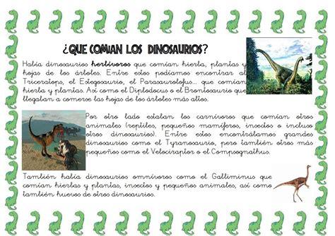 PROYECTO DE LOS DINOSAURIOS … | Dinosaurios, Proyectos de ...
