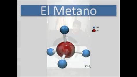 Proyecto de química,maqueta de la molecula CH3 metano ...