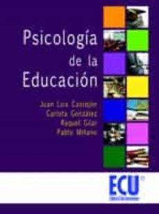 PSICOLOGÍA DE LA EDUCACIÓN EBOOK | JUAN LUIS CASTEJON ...