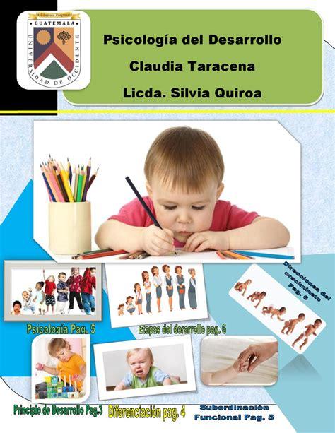 Psicología del desarrollo by Claudia Taracena   Issuu