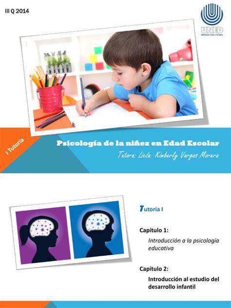 Psicología del Desarrollo en la Niñez Intermedia I y II ...