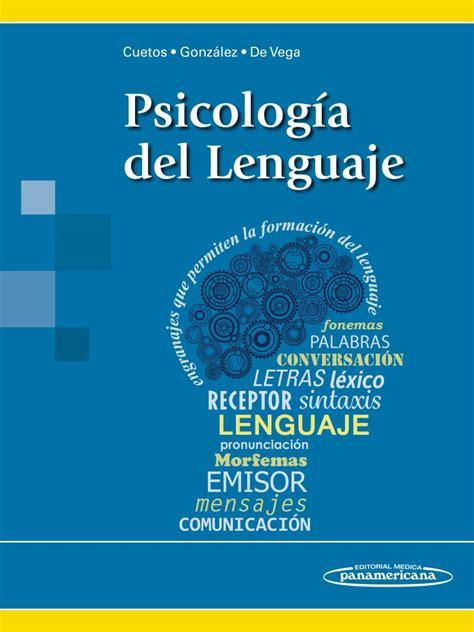 Psicología del Lenguaje