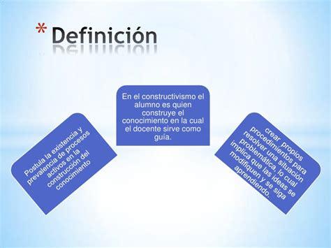 Psicologia educativa Constructivismo