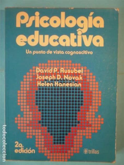 Psicologia educativa  un punto de vista cognosc   Vendido ...