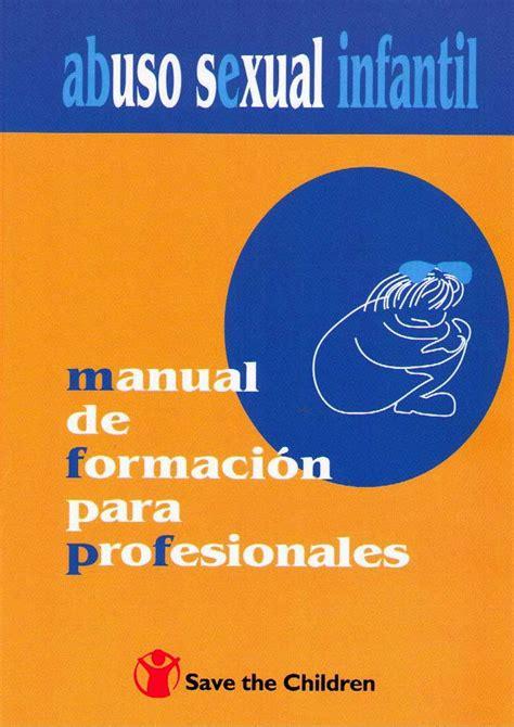 psicología en PDF : MANUAL ABUSO SEXUAL INFANTIL