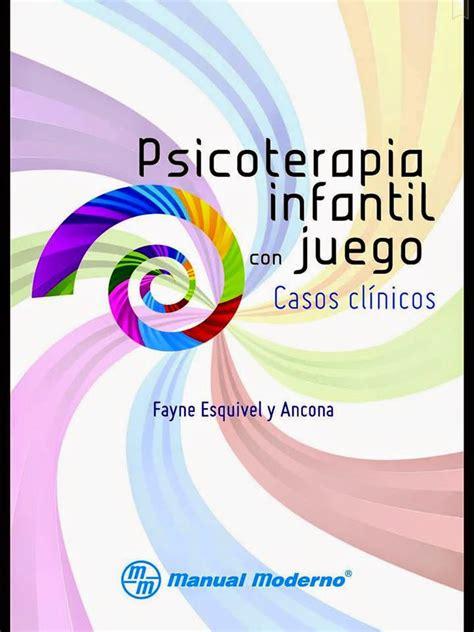 psicología en PDF : psicoterapia infantil con juegos