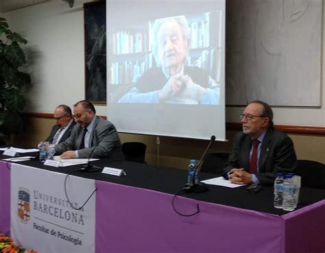 Psicología   Facultad de Psicología   Universidad de Barcelona