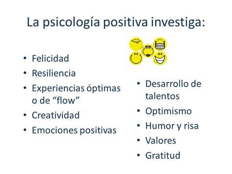 PSICOLOGÍA POSITIVA.   ppt video online descargar ...